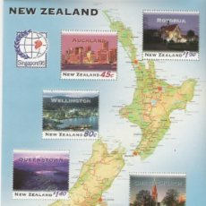 Sellos: NEW ZELANDA HOJA BLOQUE Nº 103. Lote 16751955