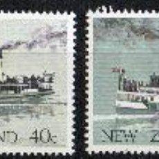 Sellos: NUEVA ZELANDA AÑO 1984 YV 863/66*** ANTIGÜOS BARCOS DE VAPOR NEOZELANDESES - TRANSPORTES. Lote 26771301
