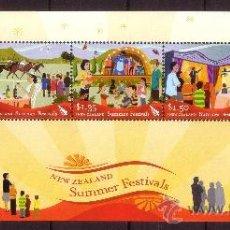 Sellos: NUEVA ZELANDA HB 213*** - AÑO 2006 - FESTIVALES DE VERANO - FOLKLORE. Lote 25249718