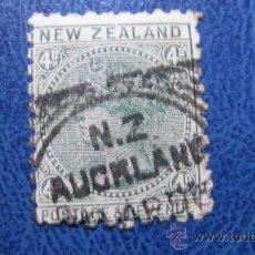 Sellos: 1882 NUEVA ZELANDA, YVERT 63. Lote 29687051