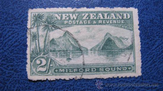 1903 NUEVA ZELANDA, YVERT 124 (Sellos - Extranjero - Oceanía - Nueva Zelanda)
