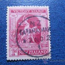 Sellos: 1919 NUEVA ZELANDA, ANIVERSARIO DE LA VICTORIA, YVERT 170. Lote 29713275