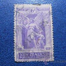 Sellos: 1919 NUEVA ZELANDA, ANIVERSARIO DE LA VICTORIA, ALEGORIA, YVERT 173. Lote 29713347