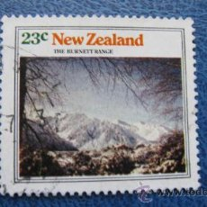 Sellos: 1973 NUEVA ZELANDA, MONTAÑAS, CADENA BURNETT, YVERT 602 . Lote 29767507