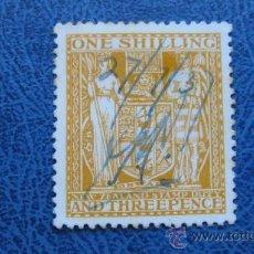 Sellos: 1931 NUEVA ZELANDA, YVERT 28 FISCALES POSTALES. Lote 29785965