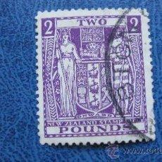 Sellos: 1931 NUEVA ZELANDA, YVERT 44 FISCALES POSTALES. Lote 29786005