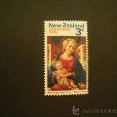 Timbres: NUEVA ZELANDA 1975 IVERT 642 *** NAVIDAD - LA VIRGEN Y EL NIÑO. Lote 38588195