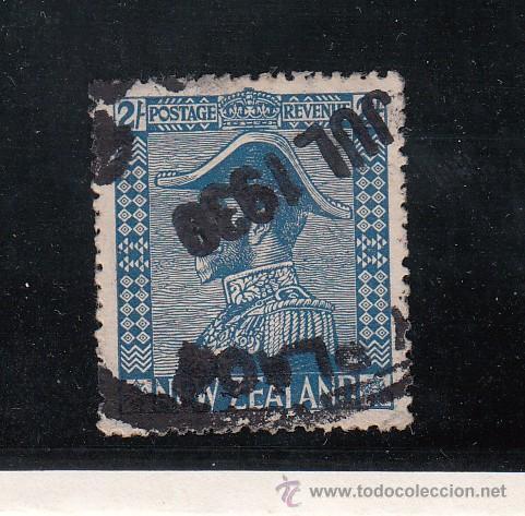 NUEVA ZELANDA 184 USADA, GEORGE V (Sellos - Extranjero - Oceanía - Nueva Zelanda)