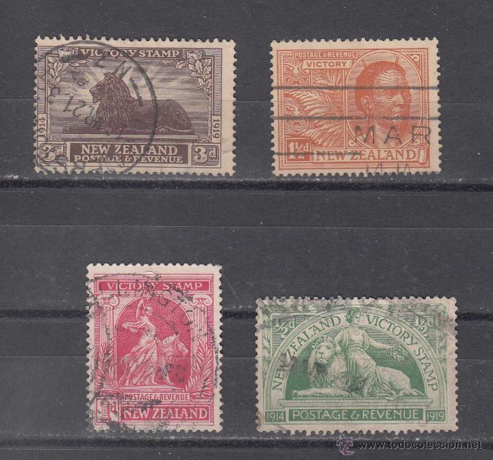 NUEVA ZELANDA 169/72 USADA, ANIVERSARIO DE LA VICTORIA (Sellos - Extranjero - Oceanía - Nueva Zelanda)