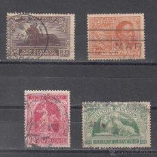 Sellos: NUEVA ZELANDA 169/72 USADA, ANIVERSARIO DE LA VICTORIA . Lote 43527119