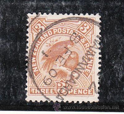 NUEVA ZELANDA 130 USADA, FAUNA, (Sellos - Extranjero - Oceanía - Nueva Zelanda)