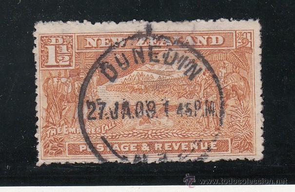 NUEVA ZELANDA 114 USADA, (Sellos - Extranjero - Oceanía - Nueva Zelanda)