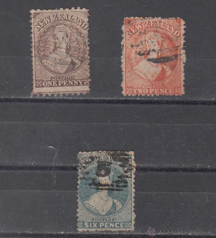 NUEVA ZELANDA 39/41 USADA, (Sellos - Extranjero - Oceanía - Nueva Zelanda)