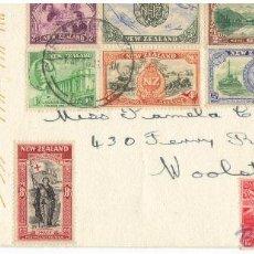 Sellos: NUEVA ZELANDA EXTRAORDINARIO SOBRE PRIMER DIA 1946 SPD. Lote 43576532