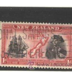 Sellos: NUEVA ZELANDA 1940 - SG NRO. 614 - USADO - . Lote 44690068
