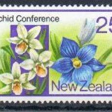 Sellos: NUEVA ZELANDA AÑO 1980 YV 763/65*** ACONTECIMIENTOS DIVERSOS - FLORA - AGRICULTURA - ARTE MAORÍ. Lote 45269914