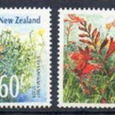 Sellos: NUEVA ZELANDA AÑO 1989 YV 1019/22*** FLORES SILVESTRES - FLORA - NATURALEZA. Lote 45270188