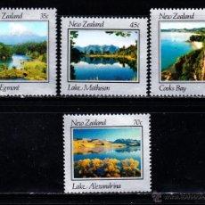 Sellos: NUEVA ZELANDA 844/47** - AÑO 1983 - PAISAJES DE NUEVA ZELANDA. Lote 140444181