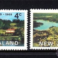 Sellos: NUEVA ZELANDA 491/92** - AÑO 1969 - 150º ANIVERSARIO DE LA COLONIZACION EUROPEA DE KERIKERI. Lote 47691600