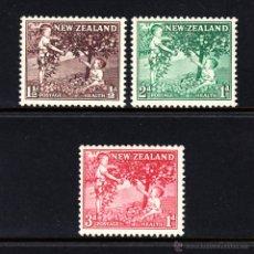 Francobolli: NUEVA ZELANDA 356/58** - AÑO 1956 - PRO OBRAS PARA LA SALUD INFANTIL. Lote 47844188