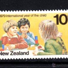 Sellos: NUEVA ZELANDA 745** - AÑO 1979 - AÑO INTERNACIONAL DEL NIÑO. Lote 147660029