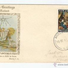 Sellos: 1961 - PRIMER DÍA DE CIRCULACIÓN - NUEVA ZELANDA. Lote 49416040