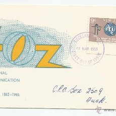 Sellos: 1965 - PRIMER DÍA DE CIRCULACIÓN - NUEVA ZELANDA. Lote 49522470
