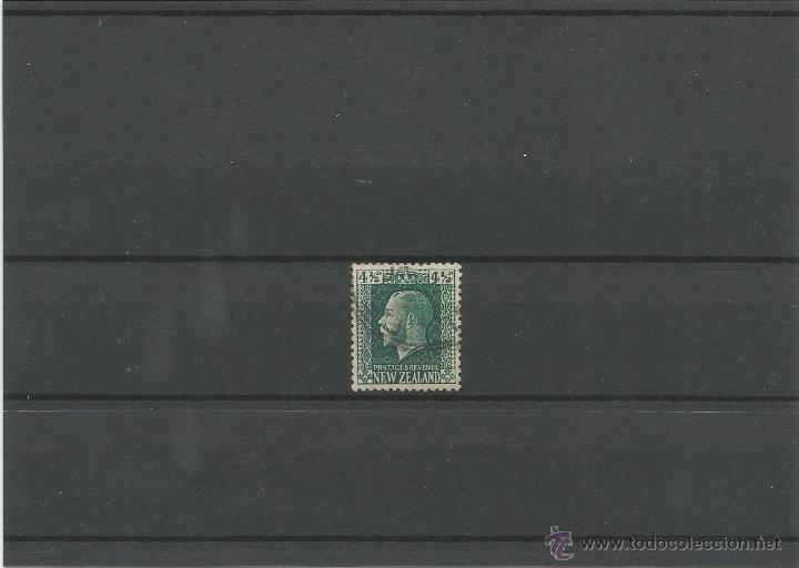 1915-22 - EFIGIE DE JORGE V - NUEVA ZELANDA (Sellos - Extranjero - Nueva Zelanda)