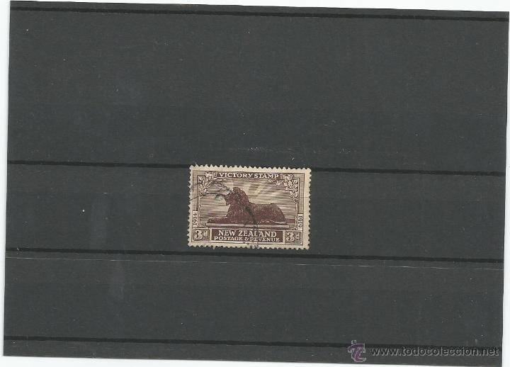 1919 - ANIVERSARIO DE LA VICTORIA - NUEVA ZELANDA (Sellos - Extranjero - Oceanía - Nueva Zelanda)