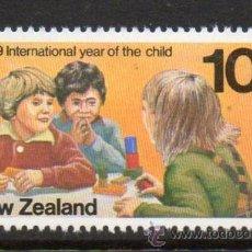 Sellos: NUEVA ZELANDA 1979 AÑO INTERNACIONAL DEL NIÑO 745 NUEVO LUJO MNH **. Lote 53096815