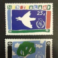 Sellos: SELLOS DE NUEVA ZELANDA. YVERT 918/9. SERIE COMPLETA NUEVA SIN CHARNELA.. Lote 53397168