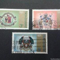 Sellos: SELLOS DE NUEVA ZELANDA. ESCUDOS. YVERT 534/6. SERIE COMPLETA USADA.. Lote 53403248
