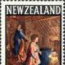 Sellos: NUEVA ZELANDA 1969 NAVIDAD NUEVO LUJO YV-499 PAPEL SELLO DE AGUA MNH *** SC. Lote 54703862