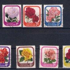 Sellos: FLORES (ROSAS) DE NUEVA ZELANDA. AÑO 1975/9. Lote 254489535