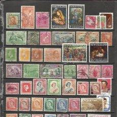 Timbres: Q626-LOTE SELLOS ANTIGUOS NUEVA ZELANDA COLONIA INGLESA,TERRITORIO REINO UNIDO,GRAN BRETAÑA.SIN TASA. Lote 61023255