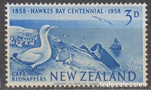 NUEVA ZELANDA SCOTT 373, CENTENARIO DE HAWKES BAY, NUEVO ** (Sellos - Extranjero - Oceanía - Nueva Zelanda)