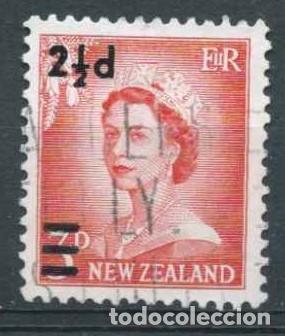 NUEVA ZELANDA,USADO,ISABEL II,1961 (Sellos - Extranjero - Oceanía - Nueva Zelanda)