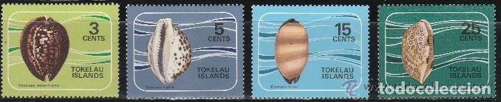 Sellos: TOKELAU ISLANDS. SERIE. IVERT # 41-4 **.MNH.(16-393) - Foto 1 - 86406020