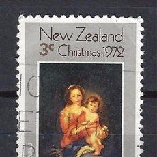 NUEVA ZELANDA - SELLO USADO