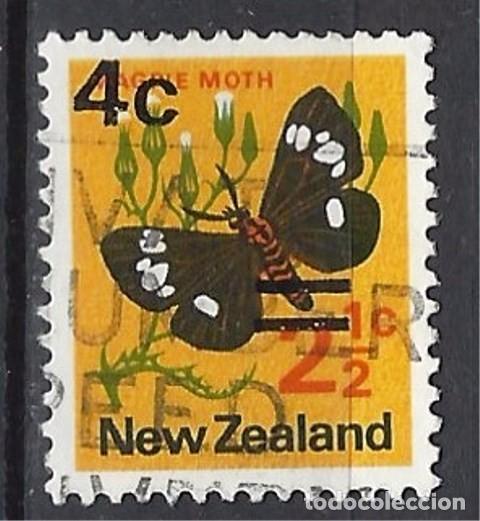 NUEVA ZELANDA - SELLO USADO, SOBRECARGADO (Sellos - Extranjero - Nueva Zelanda)