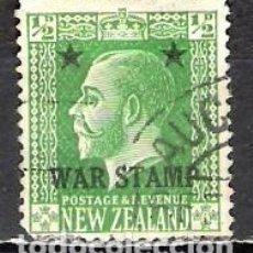 Sellos: NUEVA ZELANDA 1915 - USADO. Lote 99414059
