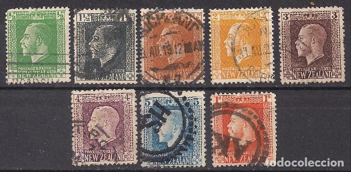 NUEVA ZELANDA - JORGE V - USADO (Sellos - Extranjero - Oceanía - Nueva Zelanda)