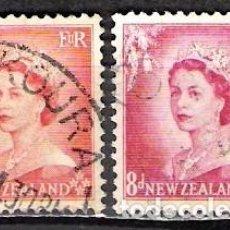 Sellos: NUEVA ZELANDA 1954 - USADO. Lote 99419971