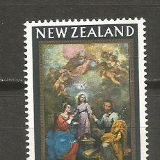 Sellos: NUEVA ZELANDA SELLO YVERT NUM. 433 ** SERIE COMPLETA SIN FIJASELLOS NAVIDAD. Lote 108397403