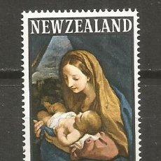 Sellos: NUEVA ZELANDA SELLO YVERT NUM. 440 ** SERIE COMPLETA SIN FIJASELLOS NAVIDAD. Lote 108397447
