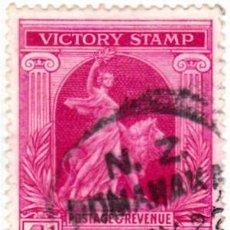 Sellos: 1919 - NUEVA ZELANDA - ANIVERSARIO DE LA VICTORIA - ALEGORIA DE LA PAZ - YVERT 170. Lote 112536755