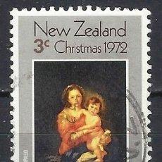 Sellos: NUEVA ZELANDA / ARTE RELIGIOSO - SELLO USADO. Lote 112731863
