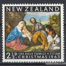 Sellos: NUEVA ZELANDA / ARTE RELIGIOSO - SELLO USADO. Lote 112731947