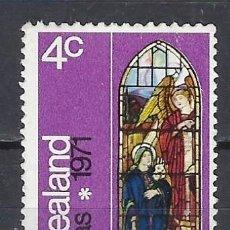 Sellos: NUEVA ZELANDA / ARTE RELIGIOSO - SELLO USADO. Lote 112731987