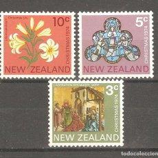 Sellos: NUEVA ZELANDA,1974,CAT.YT.618/620.. Lote 113534879